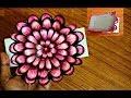 small flower POP UP card Crafts-Handmade Craft