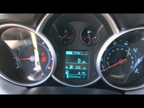 2013 Chevrolet Cruze | Great Gas Milage + Performance