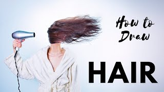 Download Step By Step How To Draw 16 Unique Hairstyles Fast Easy