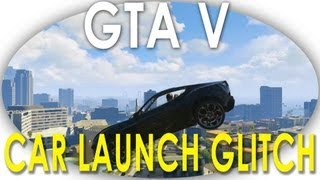 "GTA V CAR LAUNCH GATE GLITCH TUTORIAL, Flying Cars (New ""Swing Set"" Glitch) GTA 5"