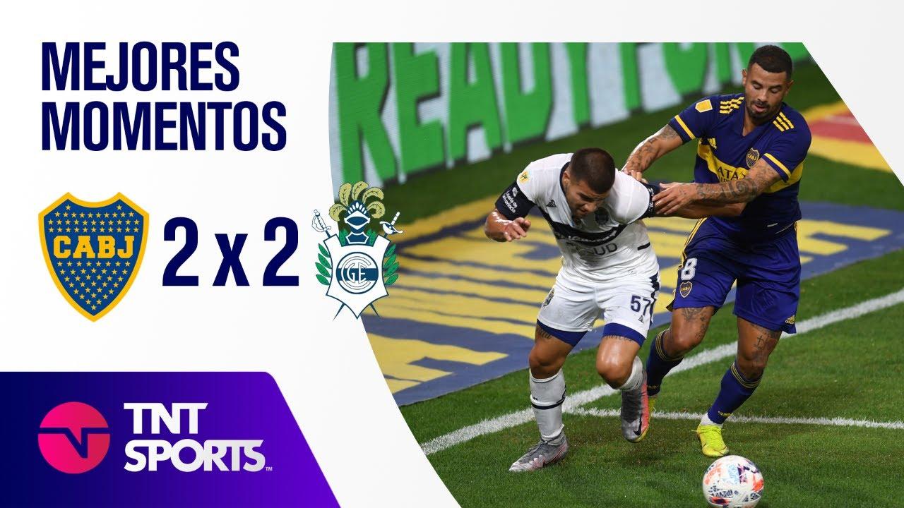 Resumen de Boca Juniors vs Gimnasia LP (2-2)   Zona B - F 1 - Copa LPF 2021