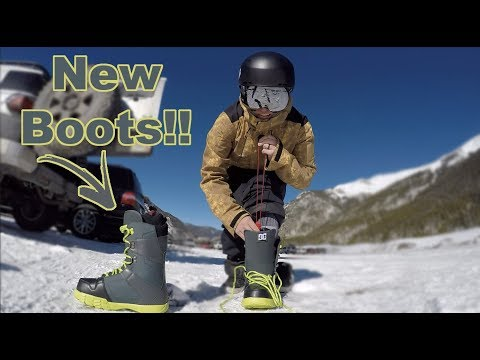 My New DC Snowbord Boots Review - Copper Mountain - (Season 3, Day 26)