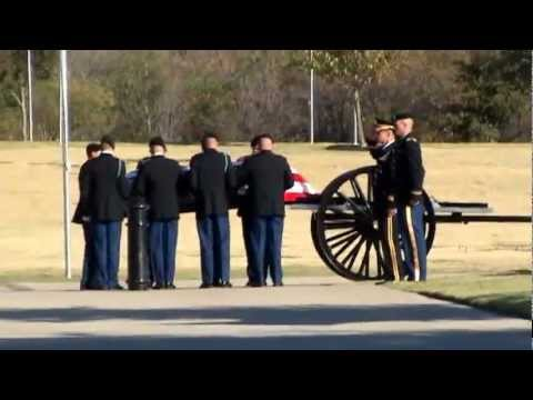 Military Funeral, Medal of Honor Recipient,  Ret. US Army Col. James L. Stone Jr.