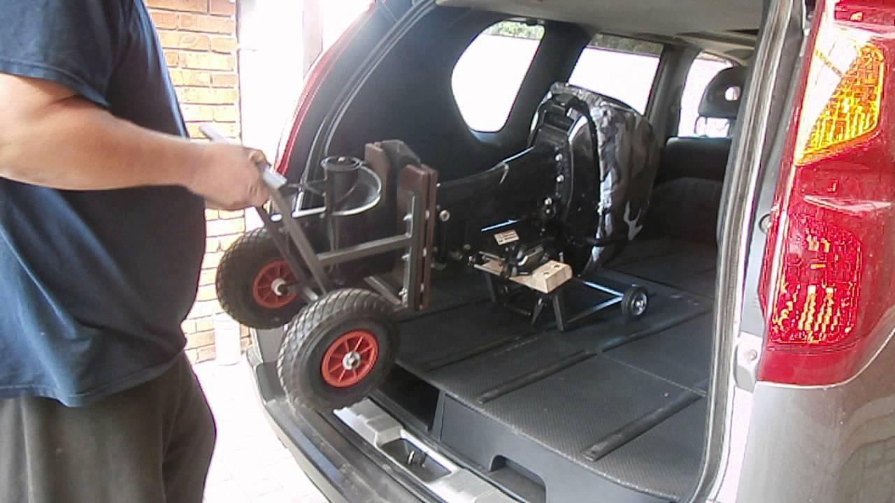 Тележка или тачка для лодочного мотора HONDA BF20 своими руками .