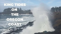 King Tides at Depoe Bay, Oregon