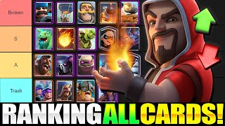 *NEW!* RANKING EVERY CARD IN CLASH ROYALE!! [2021 TIER LIST]