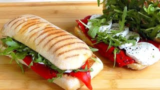 How to make Panini easy snack food recipe