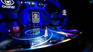 Нюша - Только, OOPS! Choice Awards, 21.10.14