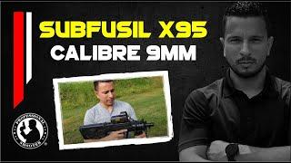 SubFusil X95 calibre 9mm EJERCITO DE COLOMBIA, FUERZAS ESPECIALES.