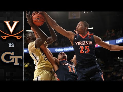 Virginia vs. Georgia Tech Basketball Highlights (2017-18)