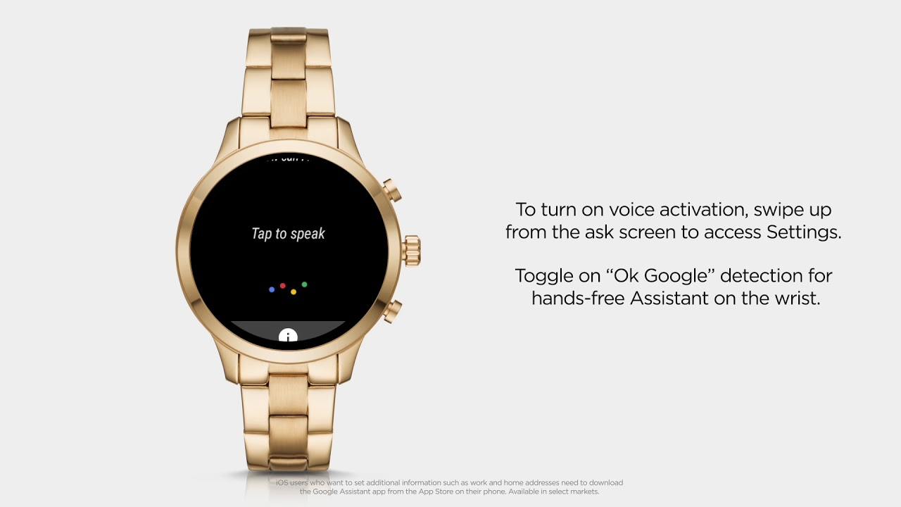 Michael Kors Access Runway Smartwatch | Using Google Assistant