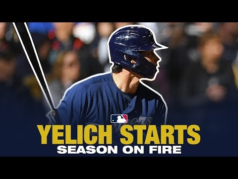 Brewers - Christian Yelich off to hot start, buoys Brewers to 5-1 start