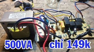 Bộ kích điện 12v lên 220V (300w) giá rẻ giật mình, hướng dẫn mua inverter 12 to 220v giá rẻ shopee