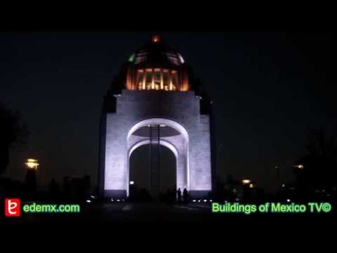 Monument to the Mexican Revolution, time lapse. edemx.com Travel Video