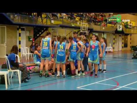 El Infantil femenino del CD Gines de baloncesto logró el tercer puesto en la Final Four provincial
