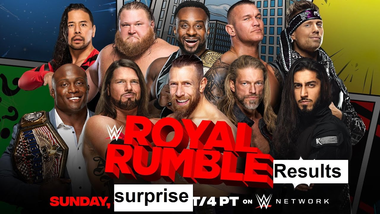 WWE Royal Rumble 2021 results: Edge wins, analysis and full recap