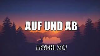 "Apache 207- AUF UND AB vom Album ""Treppenhaus"" [Lyrics Video]"