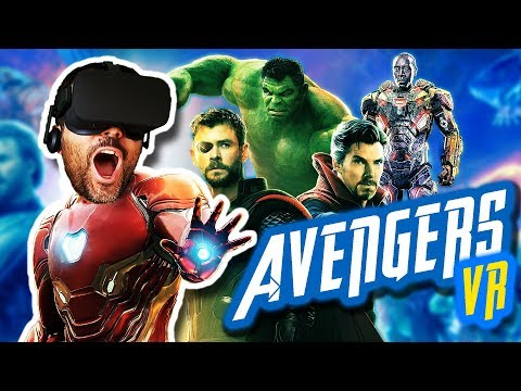 AVENGERS INFINITY WAR EN REALIDAD VIRTUAL | Soy Iron Man (Fan Trailer)