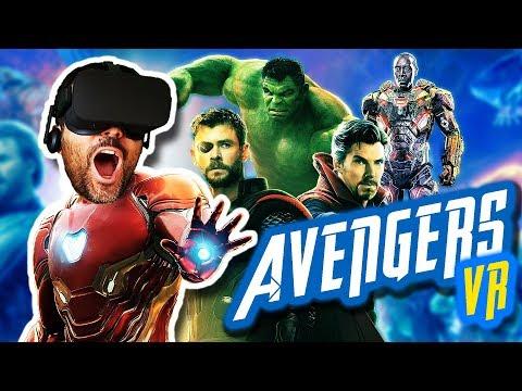 AVENGERS INFINITY WAR EN REALIDAD VIRTUAL | Soy Iron Man (Fan Trailer)