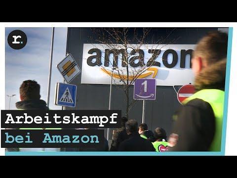 Streik bei Amazon   reporter