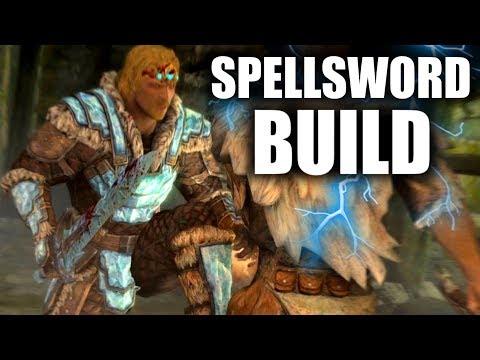 Skyrim SE Builds - The Spellsword - Warrior Mage Build
