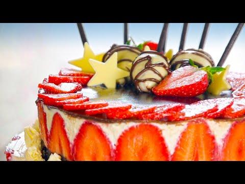 11:10 Strawberry Cake Recipes|🎂birthday Cake Recipes|Gluten Free