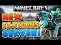 NEW FACTIONS SERVER for Minecraft PE!!