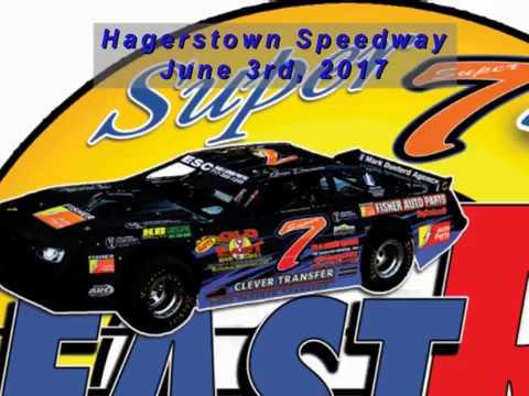 Super 7 at Hagerstown Speedway 060317