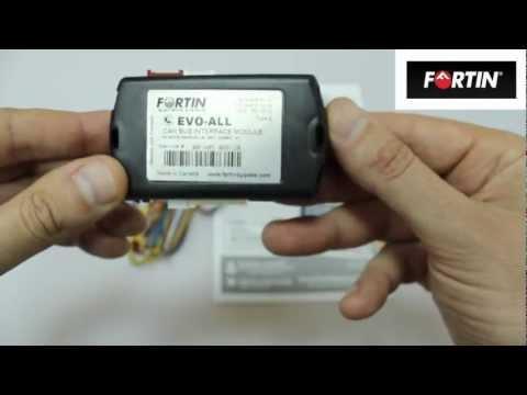 видео: Бесключевой обходчик fortin