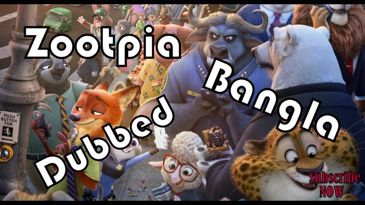 Zootopia Funny Dubbing Youtube