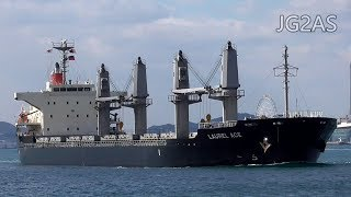 LAUREL ACE バラ積み船 Bulk carrier 川崎近海汽船 2019-JAN
