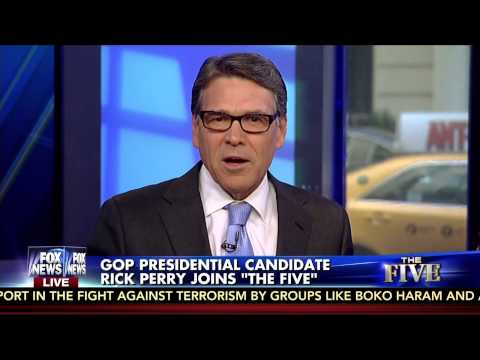 Rick Perry throws Barry Goldwater under the bus | The Five | 7/28/15