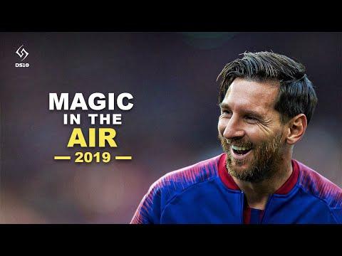 Lionel Messi | Magic In The Air Feat. Chawki | Skills & Goals | 2018 /19 [HD]