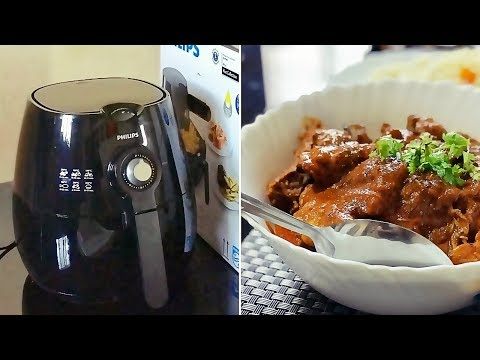 My Philips AirFryer Review, Cleaning & Maintenance / Fried Chicken Curry recipe