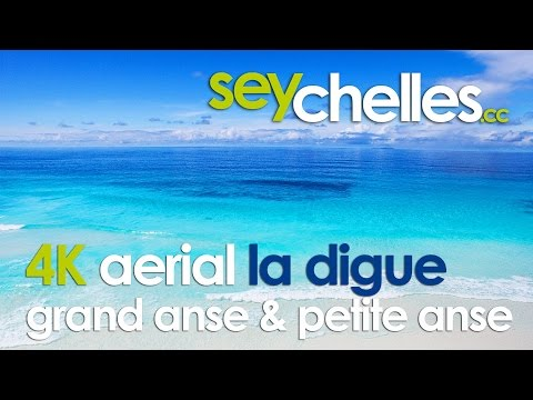 Drone Video Seychelles - Grand and Petite Anse in 4K - Episode #8