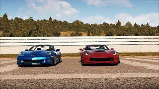 Corvette C7 Z06 vs Corvette ZR1 - Forza Horizon 2 Drag Race Ep.5 (Xbox One)