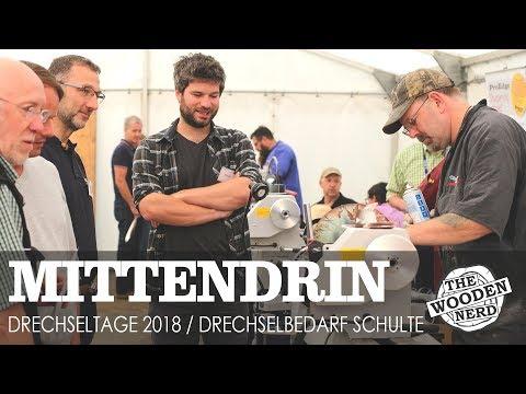 Drechseltage 2018 / Drechselbedarf Schulte / Woodturning Days