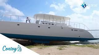 A new Funtastic Contoy 70 catamaran