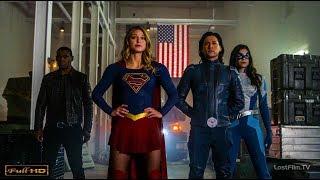 Супергёрл с супердрузьями против Элиты