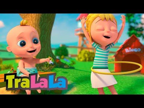 Cantec nou: Dansul cu cercul - Cantece pentru copii | TraLaLa