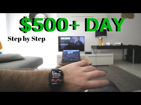 How To Make $500+ Day Trading The Stock Market From Home