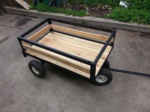 Como hacer un carrito para jalar how to make a pull wagon for Carritos con ruedas para cocina