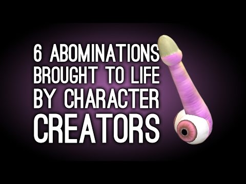 6 Abominations Brought to Life by these Games' Character Creators