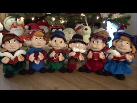 Christmas Carol Singers - Interactive Singing Toys/Friends - We Wish You a Merry Christmas