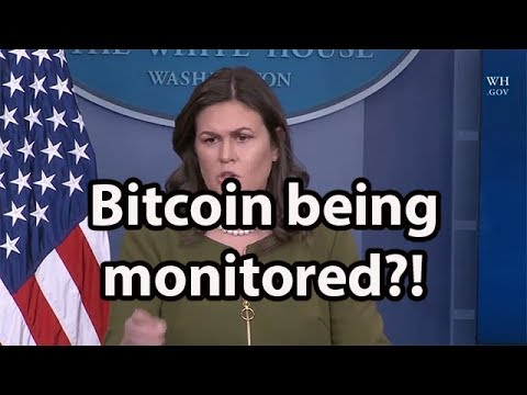 Whitehouse asked about bitcoin by reporter during press conference November 30th
