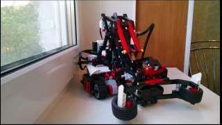 ОБЗОР НА РОБОТА SNETCH3R ИЗ LEGO MINDSTORMS EV3