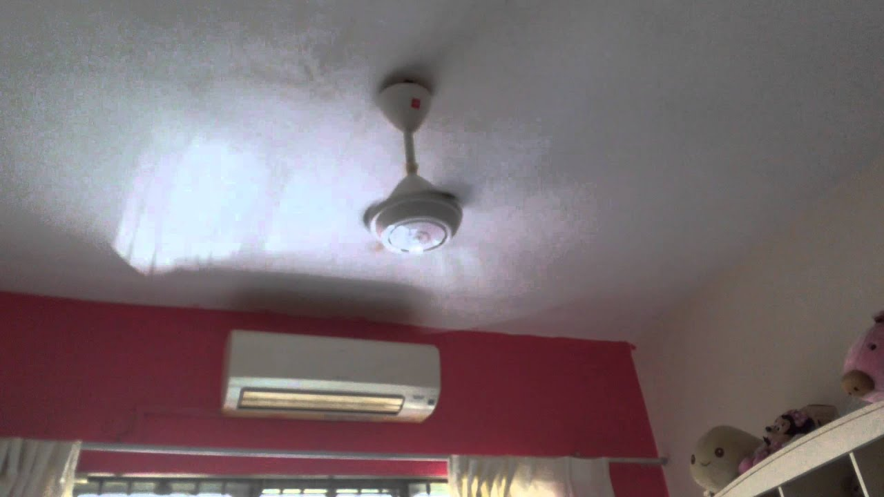 Wanted Crazy On This Old Kdk Ceiling Fan K15v0 Youtube