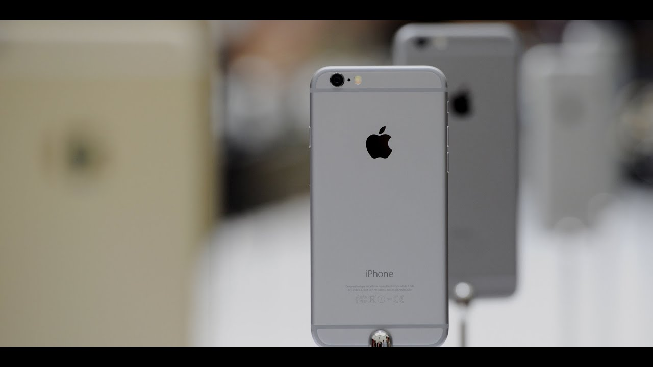 Apple iPhone 6 space gray 32gb - детальний огляд смартфон / full .