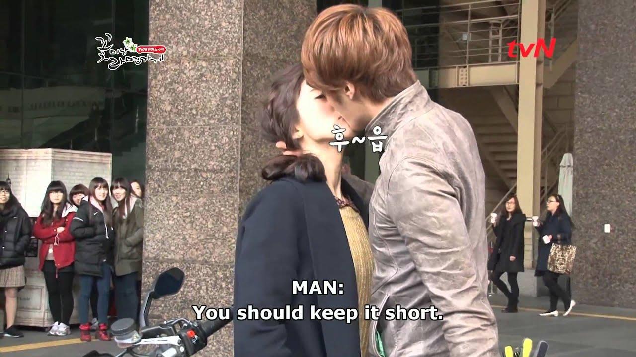 [ENG SUB] Chi Soo Eun Bi kissing scene BTS 10804