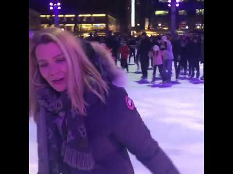 Laurie Holden on Ice via IG